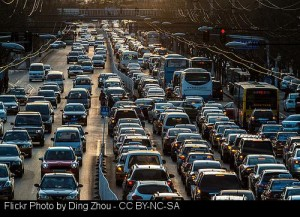 Traffic in China mirrors the experience at the DMV: befuddling and slow-moving, but ultimately you arrive where you need to.