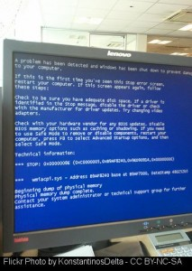 Foiled by Windows XP - not once, but twice.